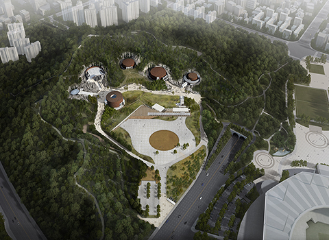 Restoration of Mapo Oil Reserve Base and creation of a park