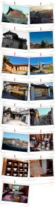 Bukchon Hanok Village, a quiet cluster of traditional Korean wooden houses that attract people who want to look at Korea