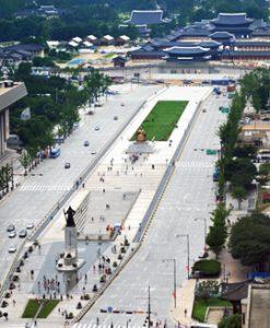 Gwanghwamun Square marks one-year anniversary