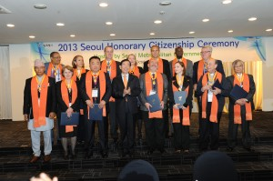 Fifteen Selected as 2013 Honorary Citizens of Seoul