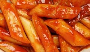 Topokki (Spicy Rice Cake )