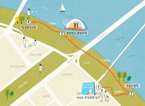 Seoul's soar starts from Yeouido, 'Miracle of Hangang (River)' Yeouido Story Course