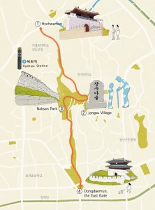 Seoul City Wall Storytelling Course