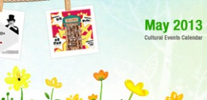 May 2013 Cultural Events Calendar
