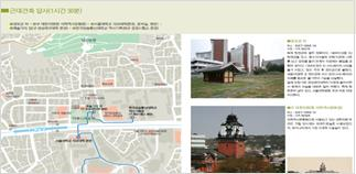 Daehangno modern architecture tour course in Seoul Architectural Map