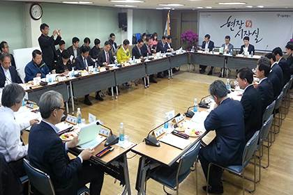 Mayor of Seoul tours all of Seoul to resolve the districts' problems