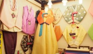 Gwangjang Market - Hanbok Fashion