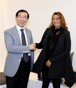 [Mayor Park Won Soon's Hope Journal 440] A Meeting with Zaha Hadid