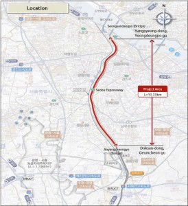 Seobu Underground Road To Be Constructed Through Private and Public Joint Agreement