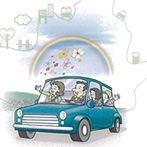 "Save 360,000 won a Year by Following the ""10 Rules for Eco-friendly and Economic Driving"""