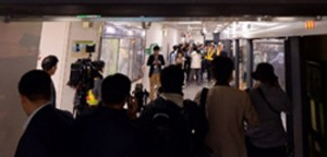 Trains Collide at Sangwangsimni Station on Seoul Metro Line 2