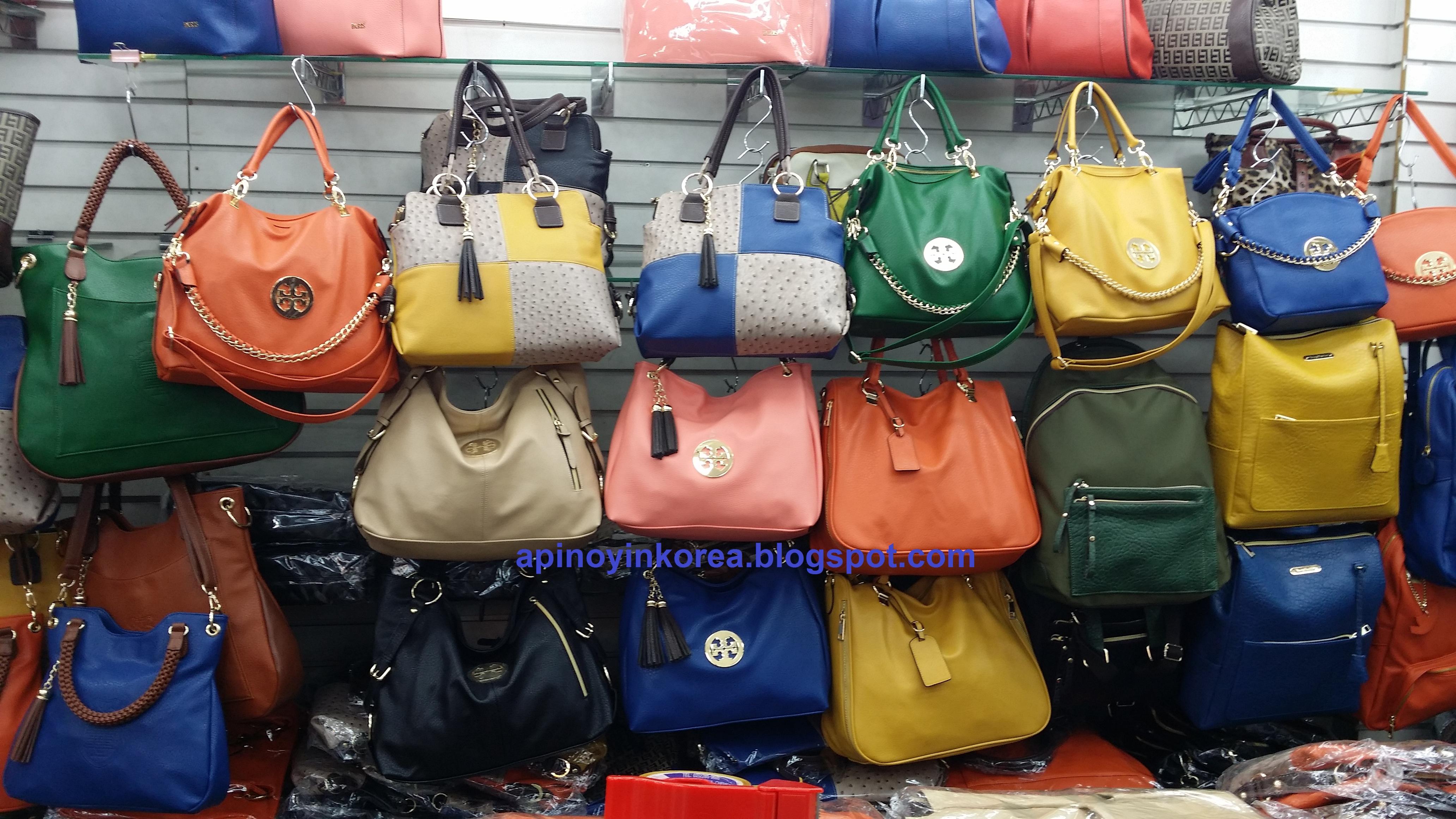Bags Galore at Dongdaemun's NamPyeongdHwa Bag Market!