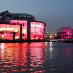 Banpo Park's Floating Island and Its Colorful Personalities