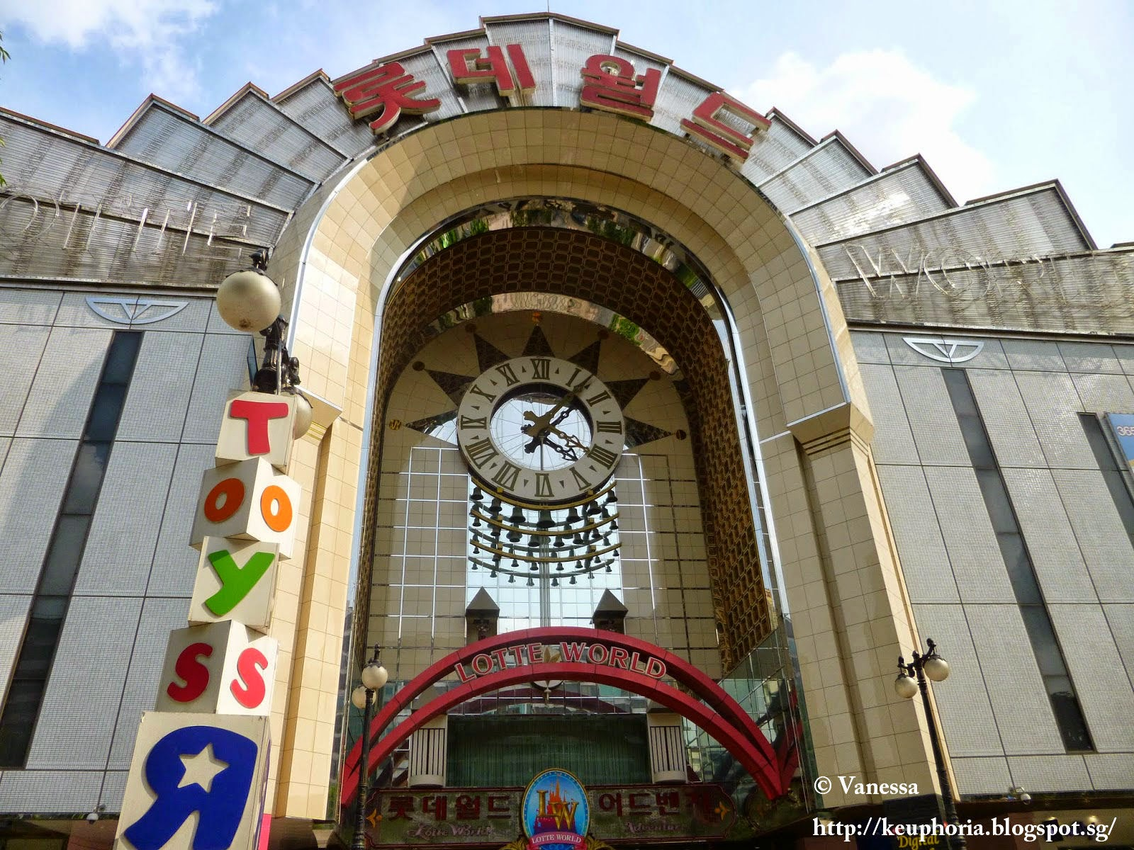 Lotte World and Lotte Star Avenue
