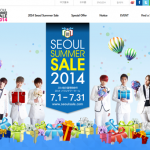 Attention Foreign Shoppers! Shop in Seoul in July! Opening of 'Seoul Summer Sale 2014'