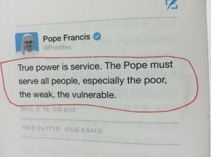 """""""True Power is Service"""""""