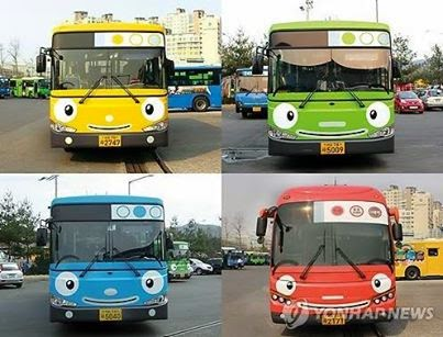 Buses in Seoul