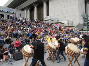 Sejong-daero Pedestrian Street Event on September 21