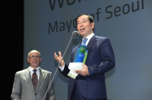 [Mayor Park Won Soon's Hope Journal 540] Seoul receives C40 & Siemens Award