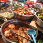 Endless food choices in Gwangjang Market