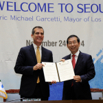 Agreement on Strengthening Friendly Relations Signed between Seoul and LA