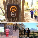 All 8 of Seoul's Dulle-gil trails are open to walk on as of Nov 15