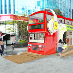 """Sinchon Play Bus"" Comes to Yonsei-ro!"