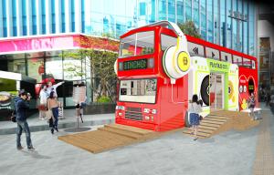 """Sinchon Play Bus"" Comes to Yonsei-ro!"