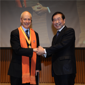 Professor Michael J. Sandel and Mayor Park Won Soon discuss justice