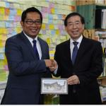 Mayor Park Won Soon meets Bandung Mayor of Indonesia