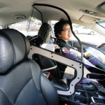 Seoul Taxis Get Protection Screens for Women Drivers
