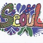 Seoul Typography Contest - Mary saba