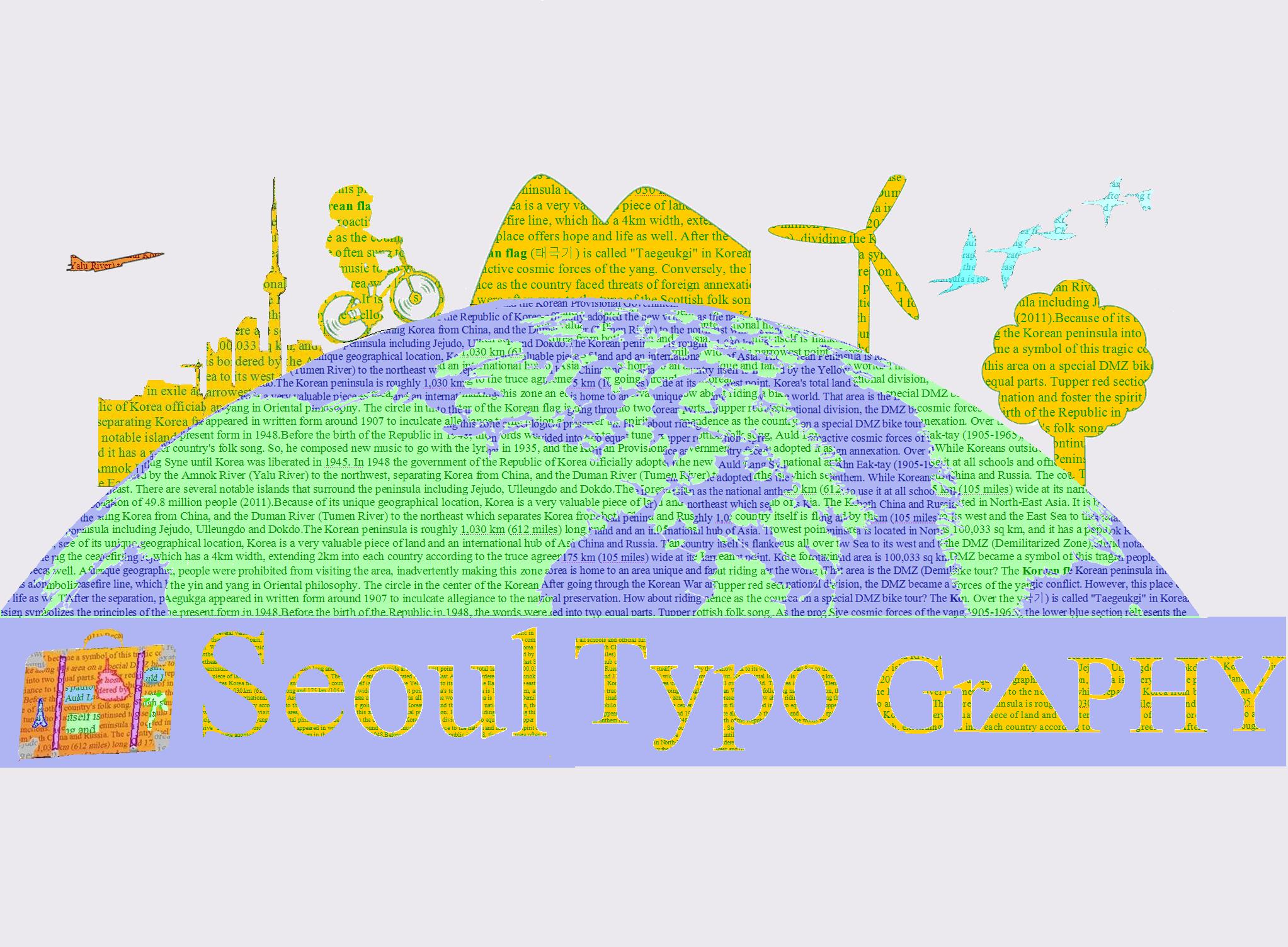 Seoul Typography Contest -