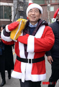 [Mayor Park Won Soon's Hope Journal 567] Presents from Santa-for-the-Day