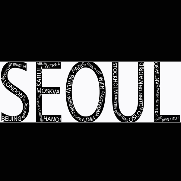 Seoul Typography Contest - Nathan C.H. MOON