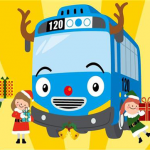 Winking Rudolph Tayo the Little Bus