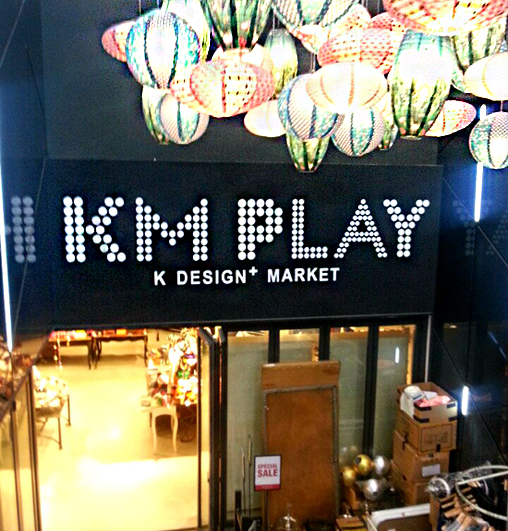 Beyond Fashion to Culture! KM PLAY