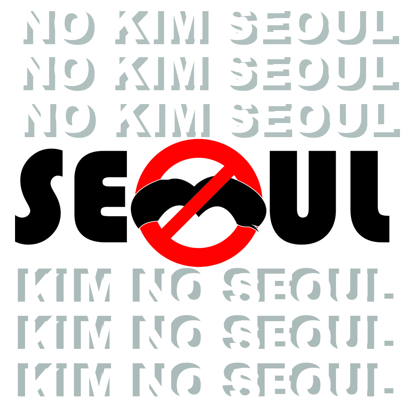 Seoul Typography Contest - REON ENG