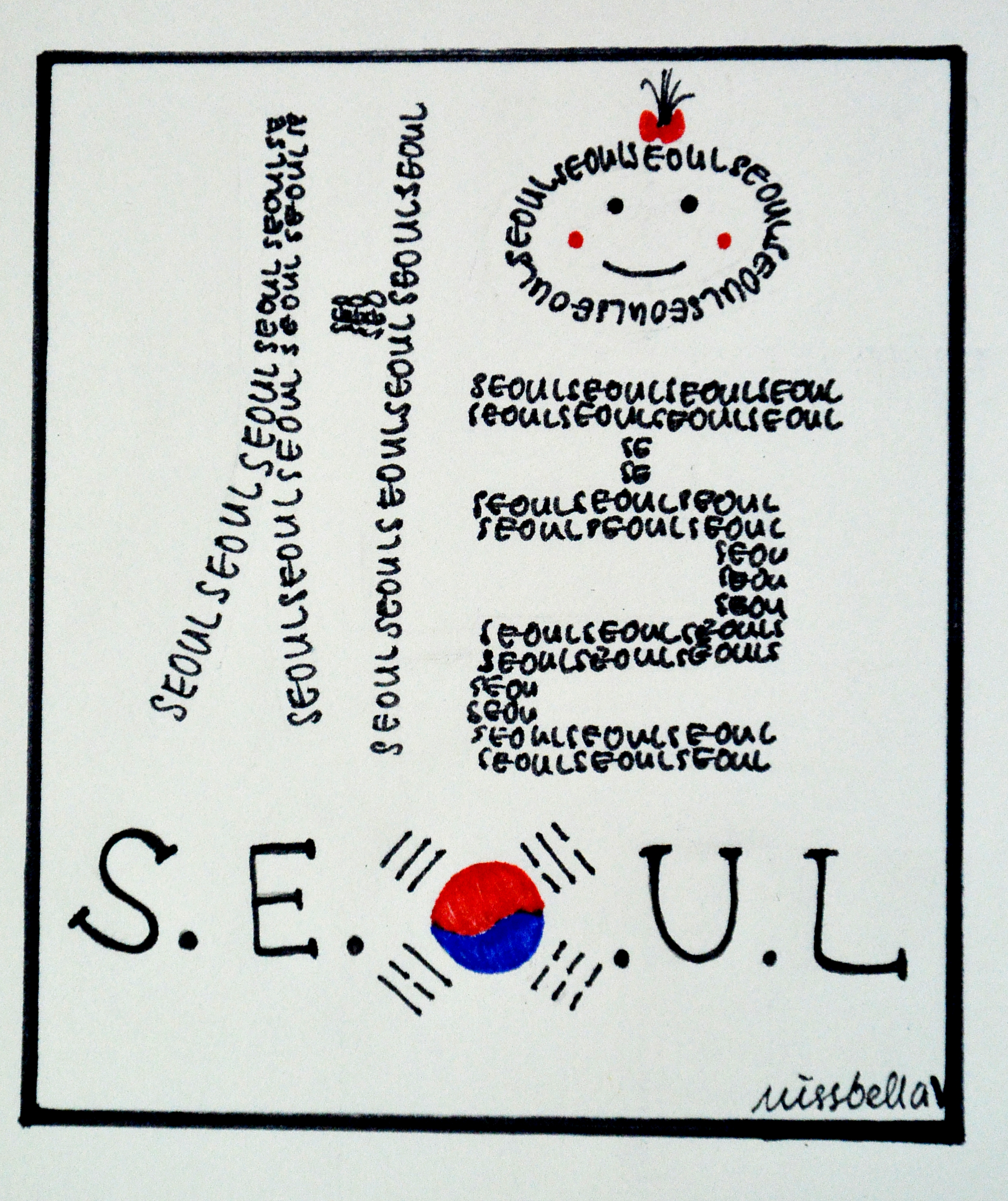 Seoul Typography Contest - Annabella Diong
