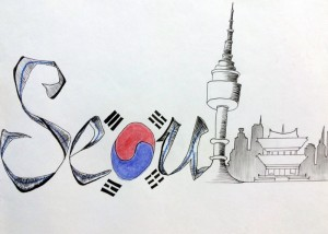 Seoul Typography Contest - Yfenne Lee