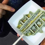 Street Food in Korea: Waffle Ddeok (와플떡)