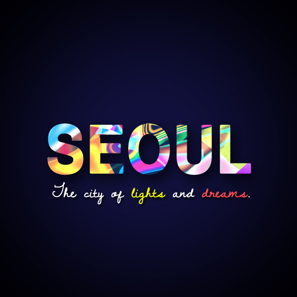 Seoul Typography Contest - Yeenna Cruz