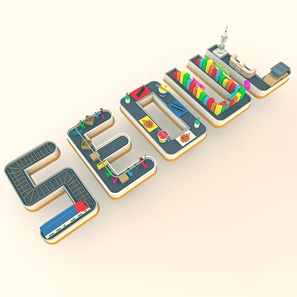 Seoul Typography Contest - Vanessa Loretta