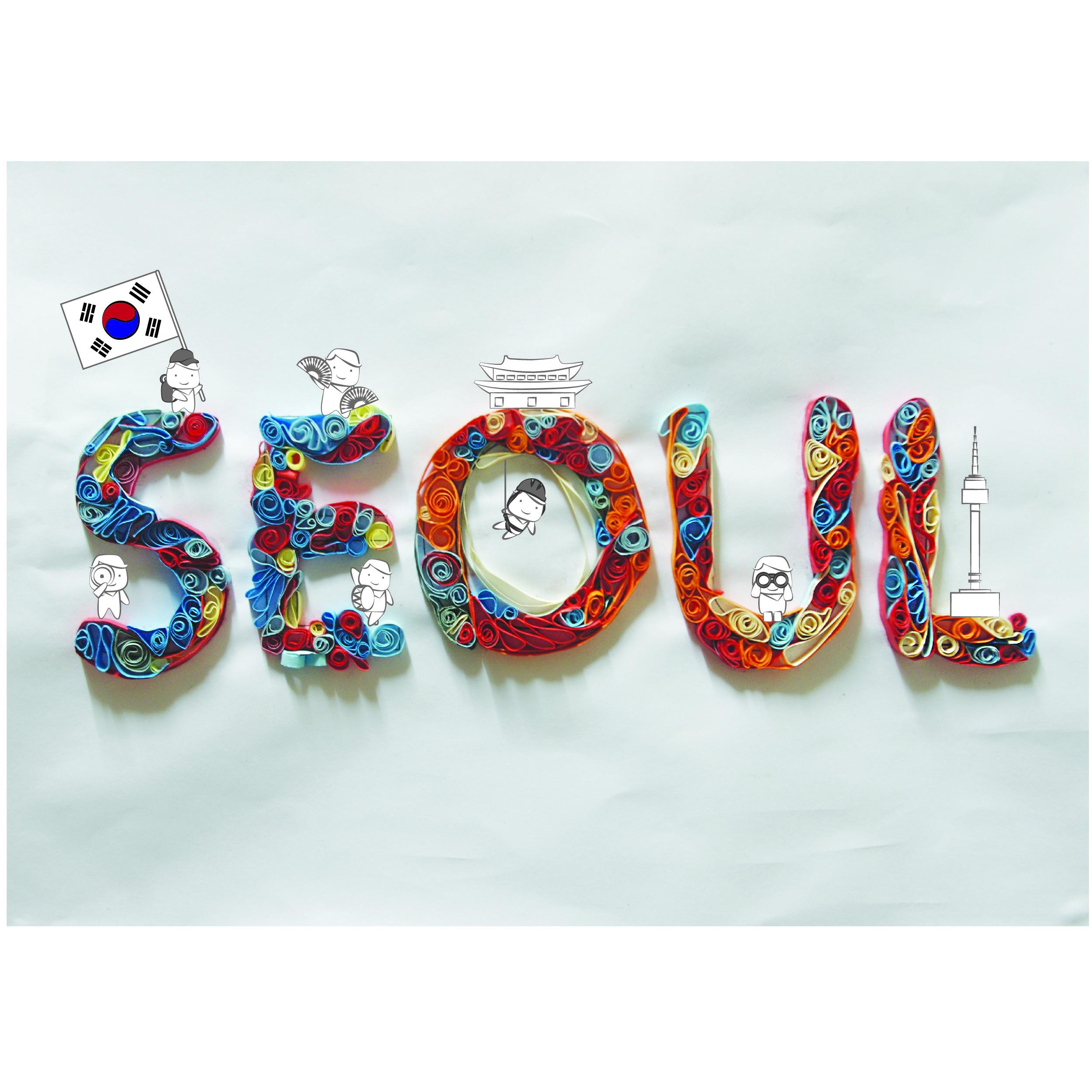 Seoul Typography Contest - zyin jeanne