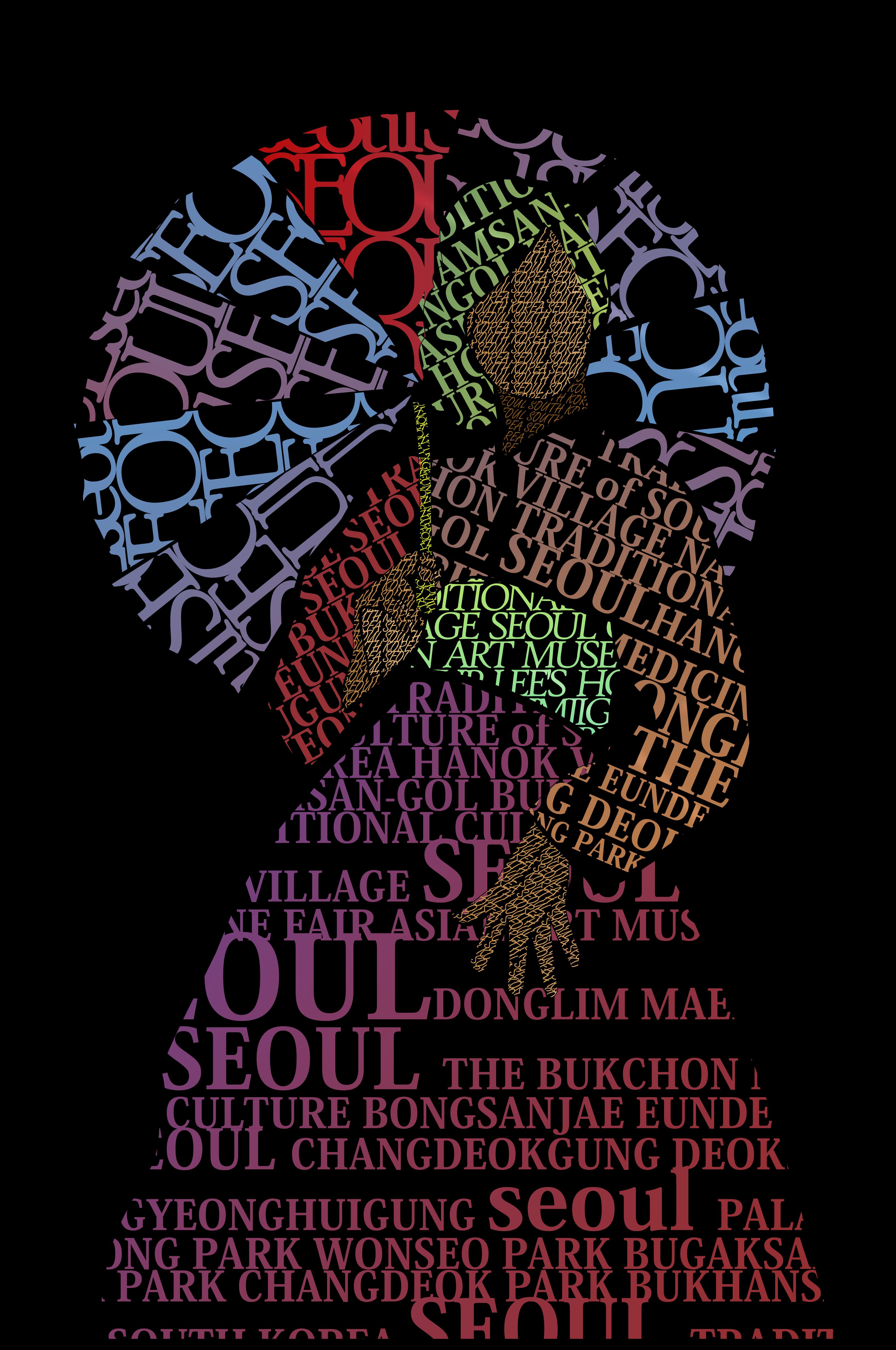 Seoul Typography Contest - faradilla ainurrohma