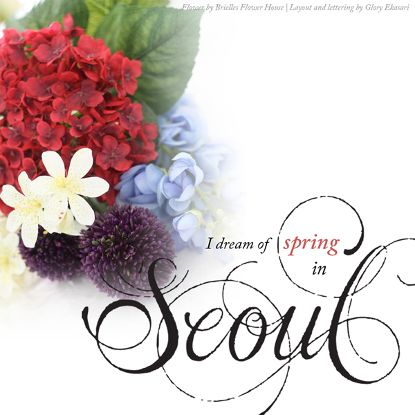 Seoul Typography Contest - Glory Ekasari