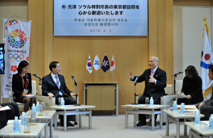 Seoul Mayor Park and Tokyo Governor Masuzoe Conclude Joint Declaration on Six Cooperative Areas, City Safety, Etc.