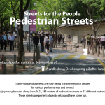 Streets for the People Pedestrian Streets