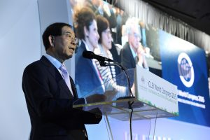 Mayor Park Won Soon Elected President of ICLEI
