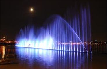 蘭芝戲水區噴泉
